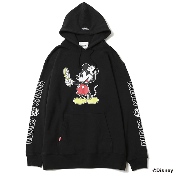RUDIE'S x BYRD / LOOK SLICK HOOD SWEAT <MICKEY MOUSE>