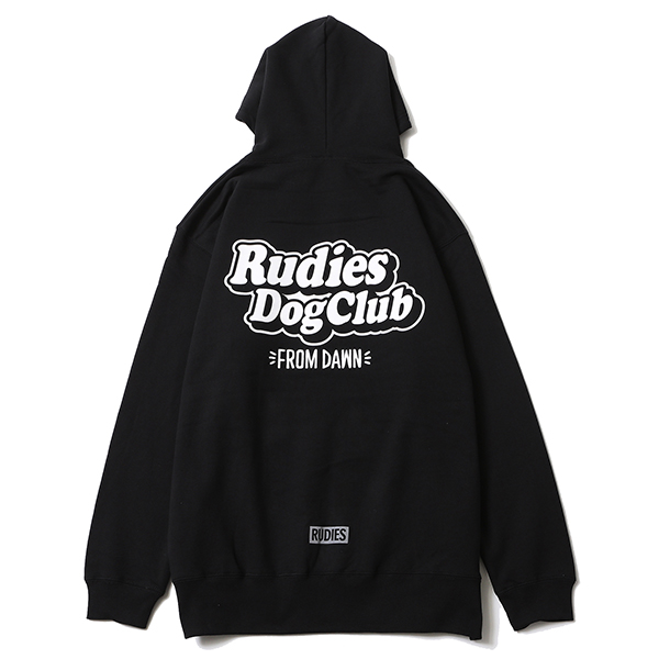 RUDIE'S DOGCLUB FROM DAWN HOOD SWEAT