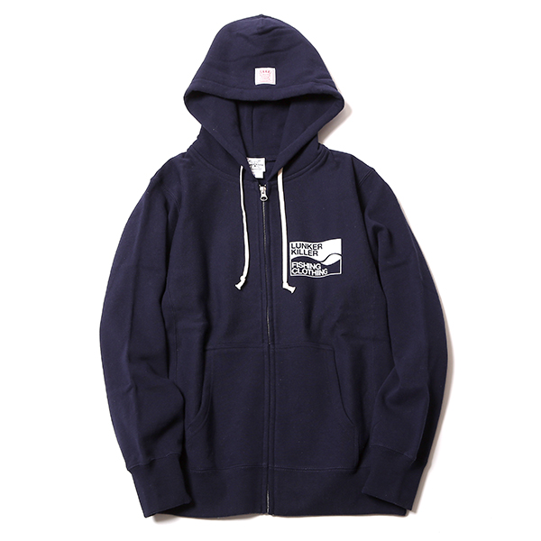 WAVE LOGO ZIPHOOD SW<Heavy>