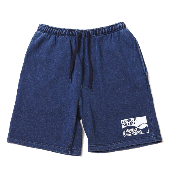 WAVE LOGO DENIM SW SHORTS