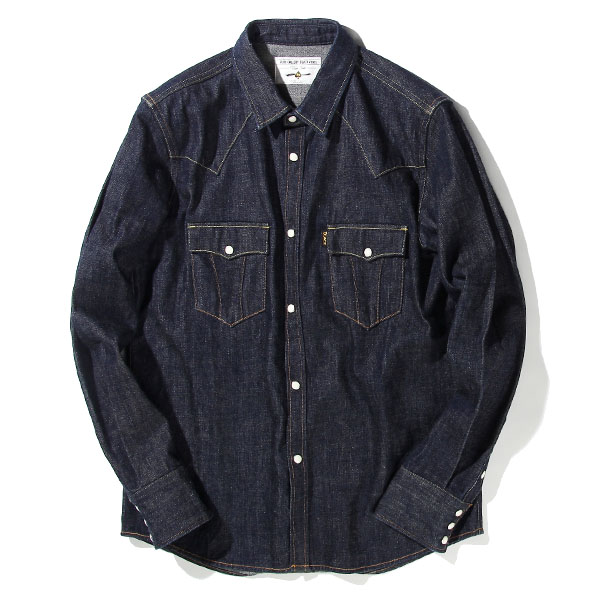 ROAD JACK DENIM SHIRTS<ONE WASH>