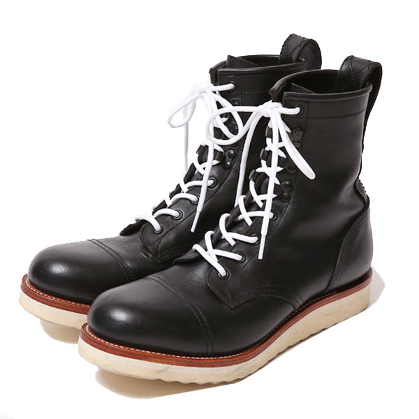 REBELS LACE UP BOOTS <CAP TOE>