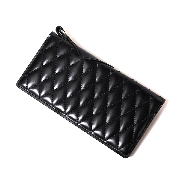 OUTSIDERS DIA QUILTED LEATHER WALLET <PORTER COLLABORATION>