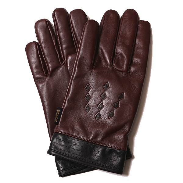 DIA DIE-CUT LEATHER GLOVE <16AW>