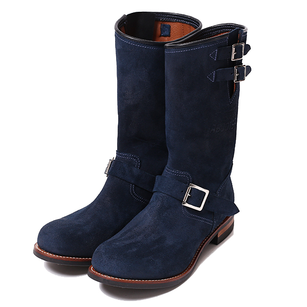 REBELS SUEDE ENGINEER BOOTS
