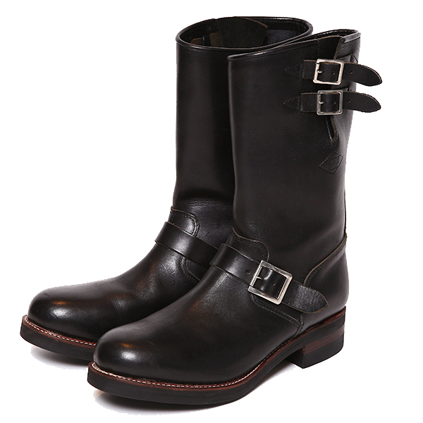 LADIES REBELS LEATHER ENGINEER BOOTS
