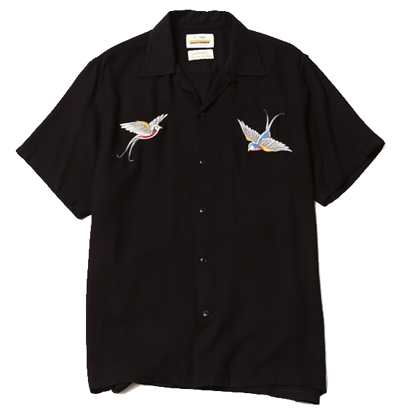 """SWALLOW SHIRT artwork by H.U. """