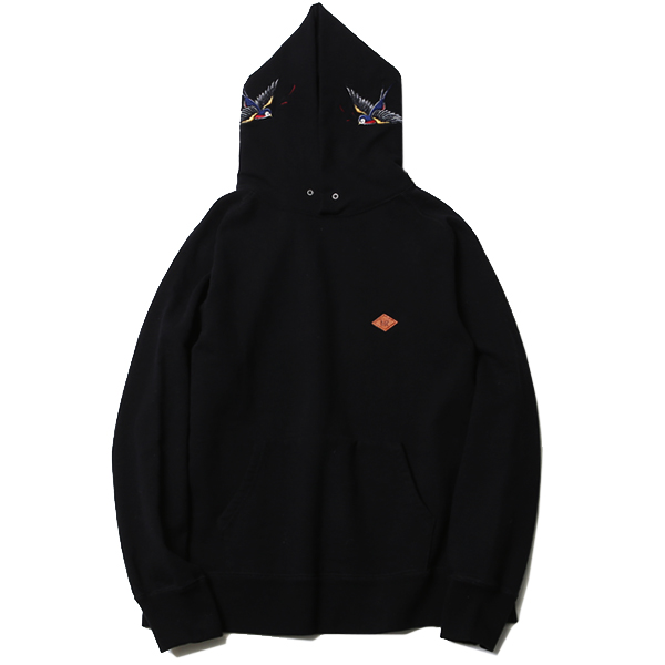 BIG SWALLOW HOODIE SWEAT <ART WORK by H.U.>
