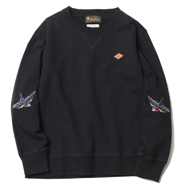 BIG SWALLOW CREW SWEAT <ART WORK by H.U.>