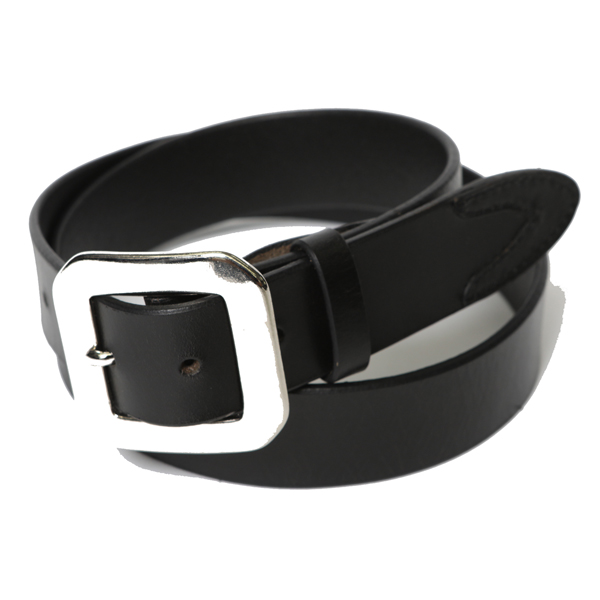 SHAPED PEAK  BRIDLE LEATHER BELT