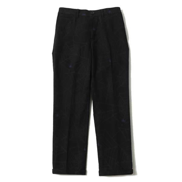 SPIDER NET HIGH ROLLERS TROUSERS