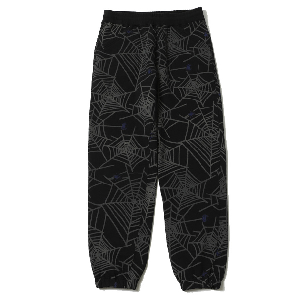 SPIDER NET SWEAT PANTS