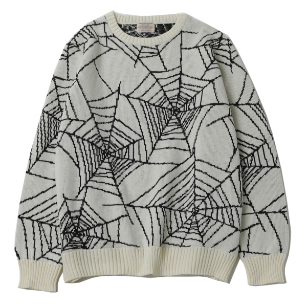SPIDER NET SWEATER