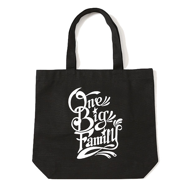 """ONE BIG FAMILY CHARITY TOTE BAG"""