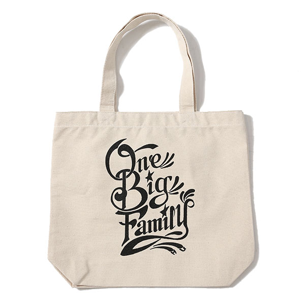 ONE BIG FAMILY CHARITY TOTE BAG