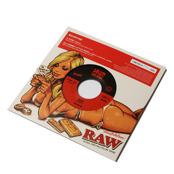 Soulcrap / RAW -Theme Song of RAW(The Natural Way To Roll)