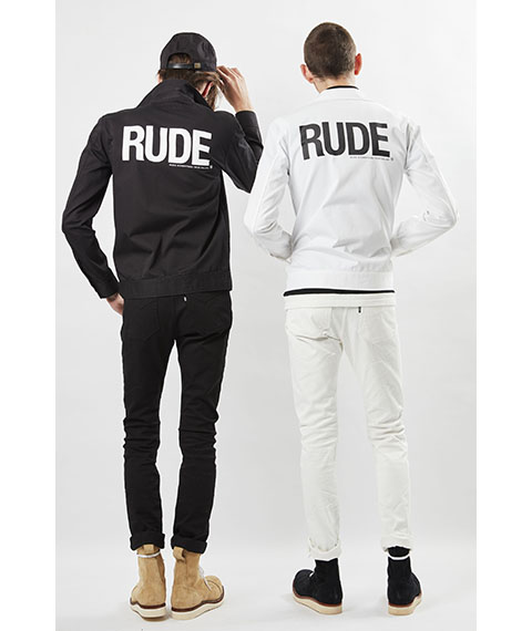 RUDE GALLERY 2018SS STYLING