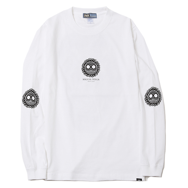 MAGICAL DESIGNxRUDE GALLERY LS-T <SKULL & SNAKE>
