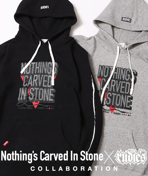 Nothing's Carved In Stone x RUDIE'S PROGRESSIVE HOOD SWEAT