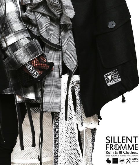 SILLENT FROM ME 2018AW