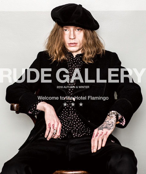 RUDE GALLERY 2018 AW