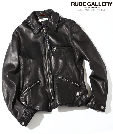 SINGLE RYDERS JACKET – STEERHIDE