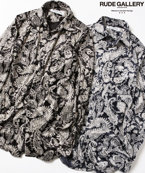 VELOUR SHIRT – PAISLEY
