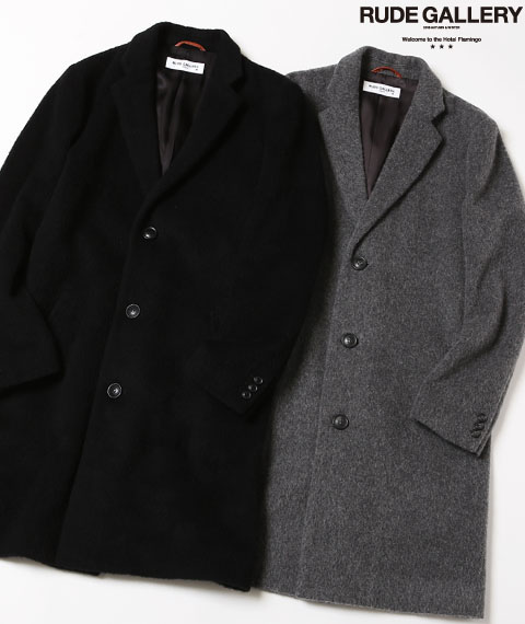 CHESTER FIELD COAT - ALPA...