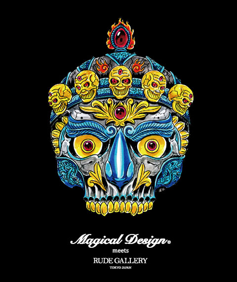 MAGICAL DESIGN meets RUDE GALLERY