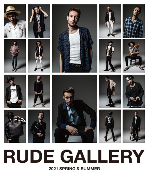 RUDE GALLERY 2021 SPRING&SUMMER COLLECTION