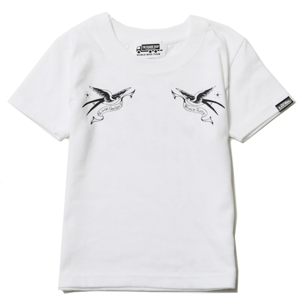 KIDS SWALLOW TEE –RUDE GALLERY BLACK REBEL-