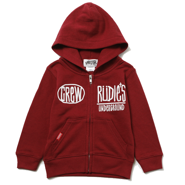 KIDS DRAWING ZIPHOOD SW –RUDIE'S-