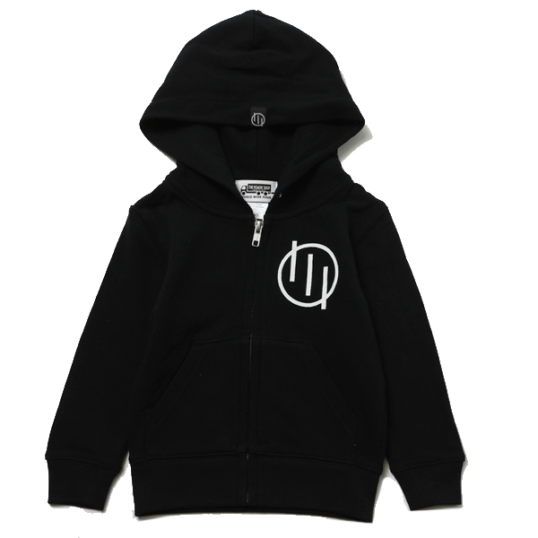 KIDS CRYPTIC ZIPHOOD SW – SILLENT FROM ME-
