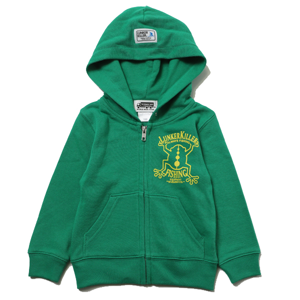 KIDS FROG ZIPHOOD SW – LUNKER KILLER-