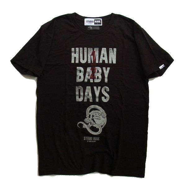 HUMAN 1/2 BABY DAYS-T