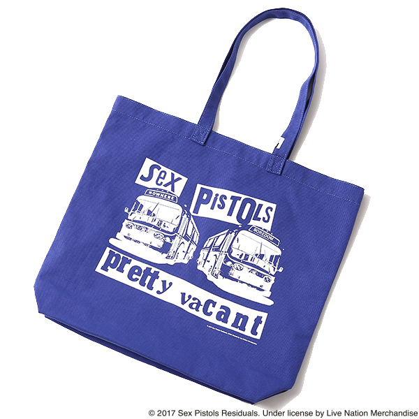 SEX PISTOLS STUDIO RUDE TOTE BAG