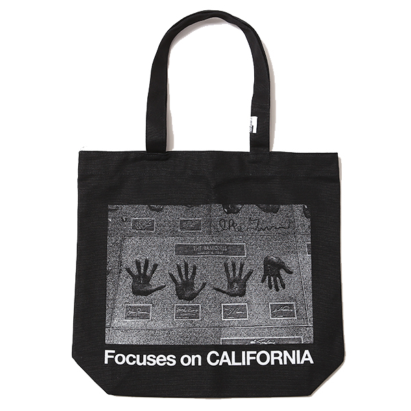 Focuses on CALIFORNIA -TOTE BAG<FEATURING YUKI KUROYANAGI>