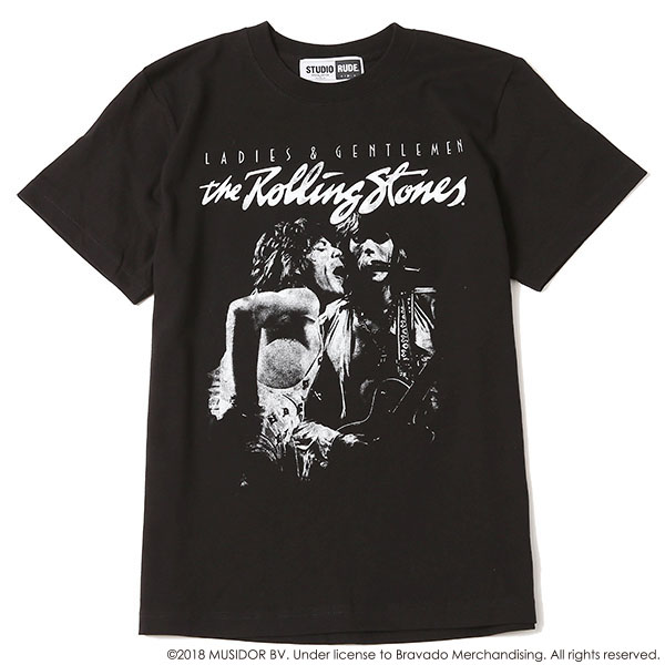 THE ROLLING STONES STUDIO RUDE S/S TEE 3