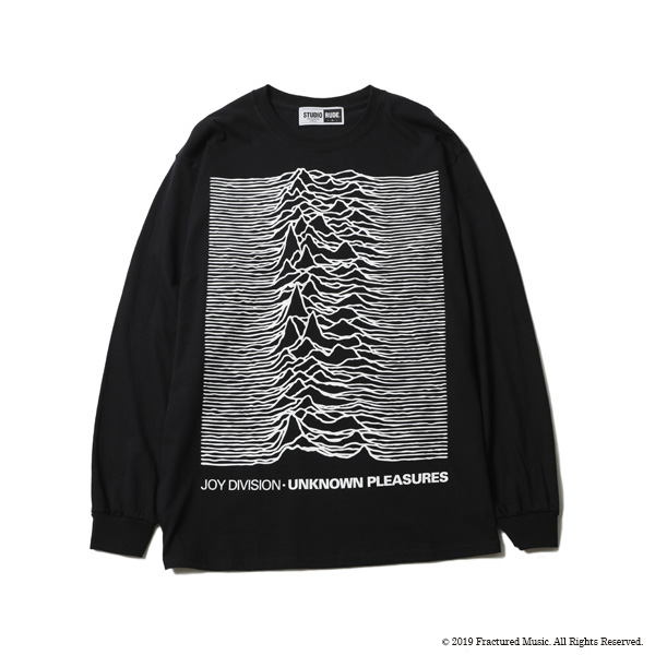 UNKNOWN PLEASURE L/S TEE BY STUDIO RUDE