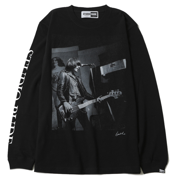 MAKE HISTORY by GODLIS BIG SILHOUETTE L/S TEE -DD