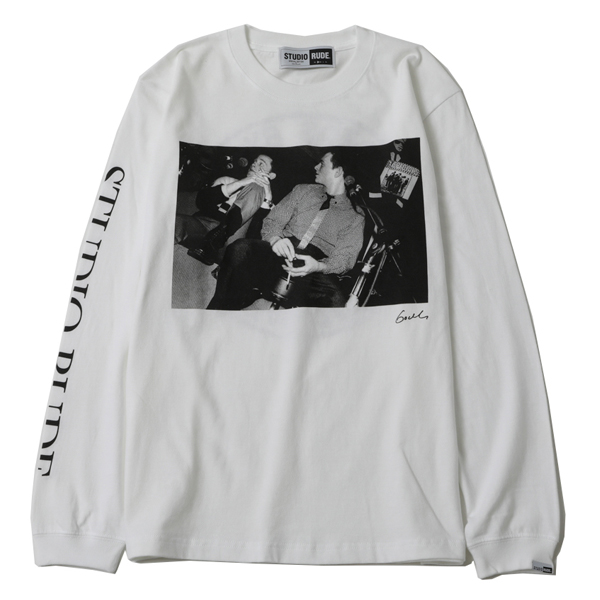 MAKE HISTORY by GODLIS BIG SILHOUETTE L/S TEE-SPECIALS