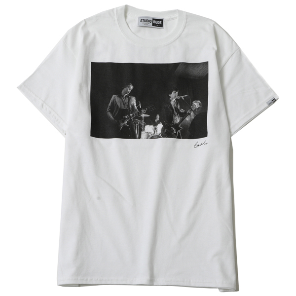 MAKE HISTORY by GODLIS BIG SILHOUETTE TEE-JOHNNY