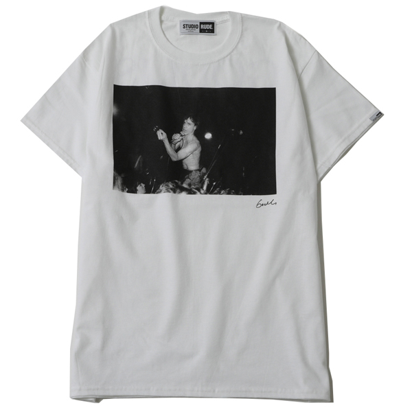 MAKE HISTORY by GODLIS BIG SILHOUETTE TEE-IGGY