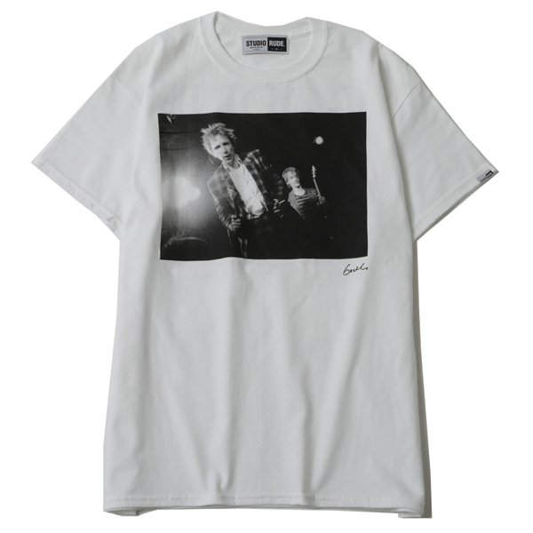 MAKE HISTORY by GODLIS BIG SILHOUETTE TEE-JOHN