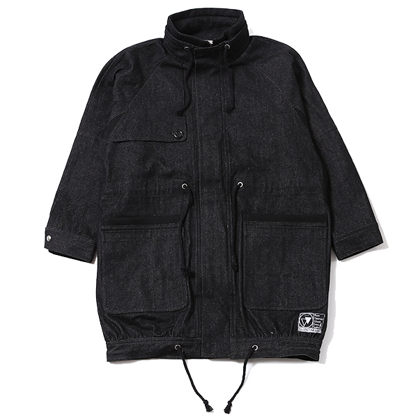 SHELTER -Stand Collar Coat-
