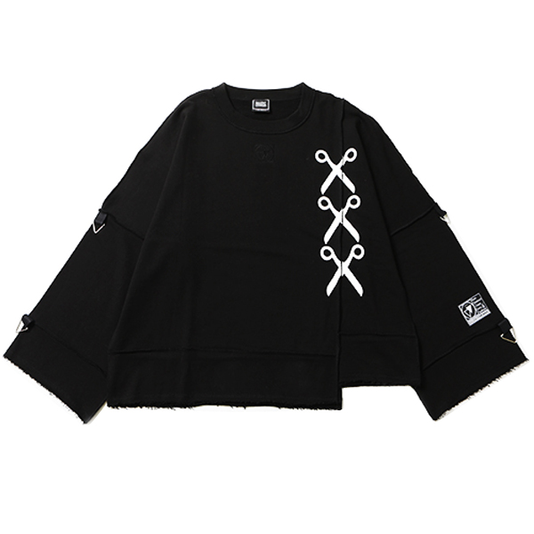 SHEARS -Deformed Crew Sweat-