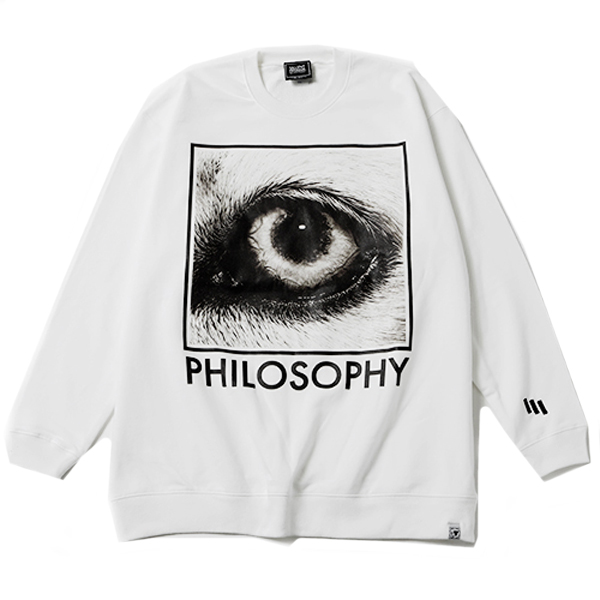 PHILOSOPHY -Crew Sweat-