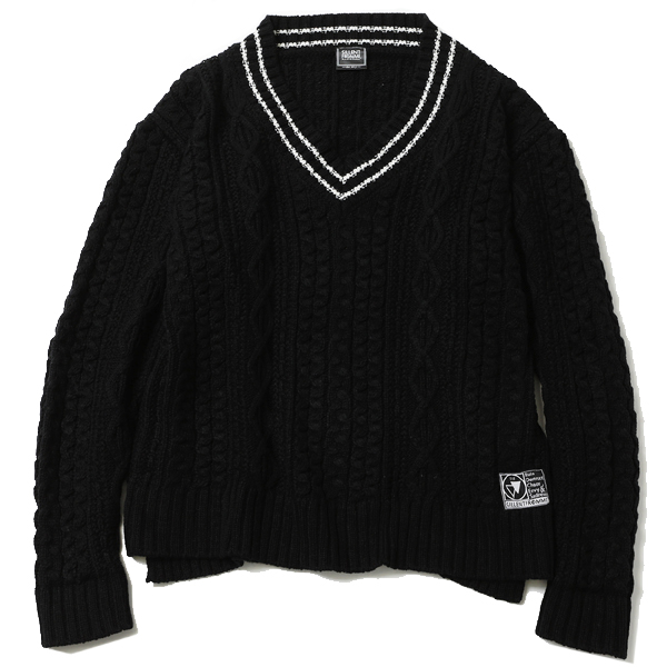 VEIN -Cable Knit Sweater-
