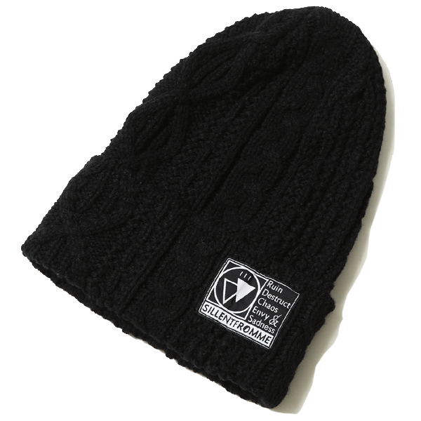 VEIN -Cable Knit Beanie-