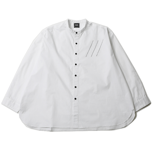CHEAP -Band collar Shirts-